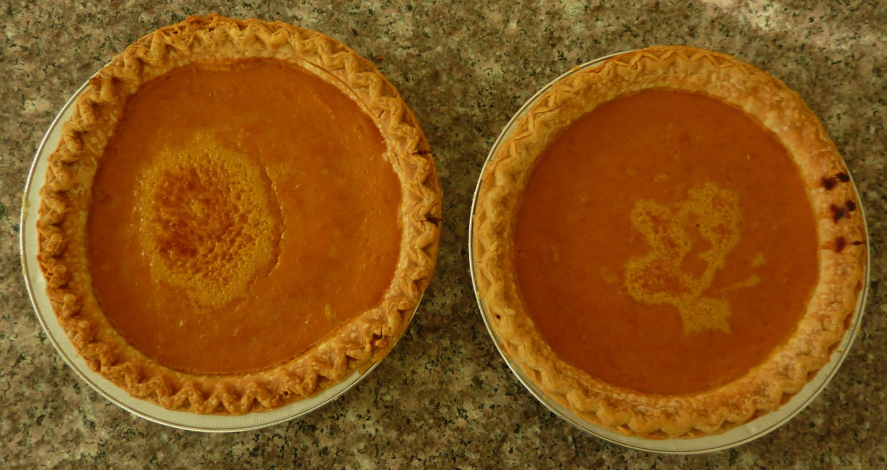 Authentic versus real pumpkin pie