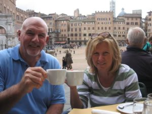 Steve Steph in Italy