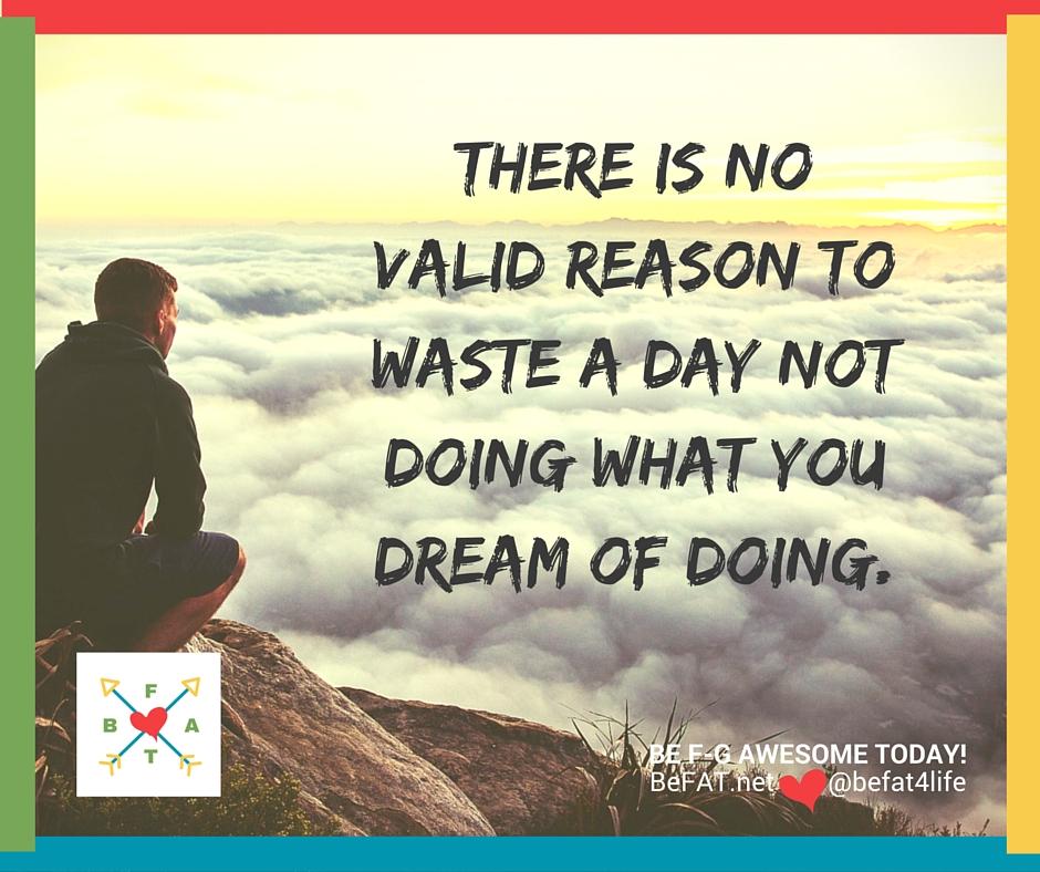 Inspirational quote | Dreams | www.befat.net |Stephanie DelTorchio