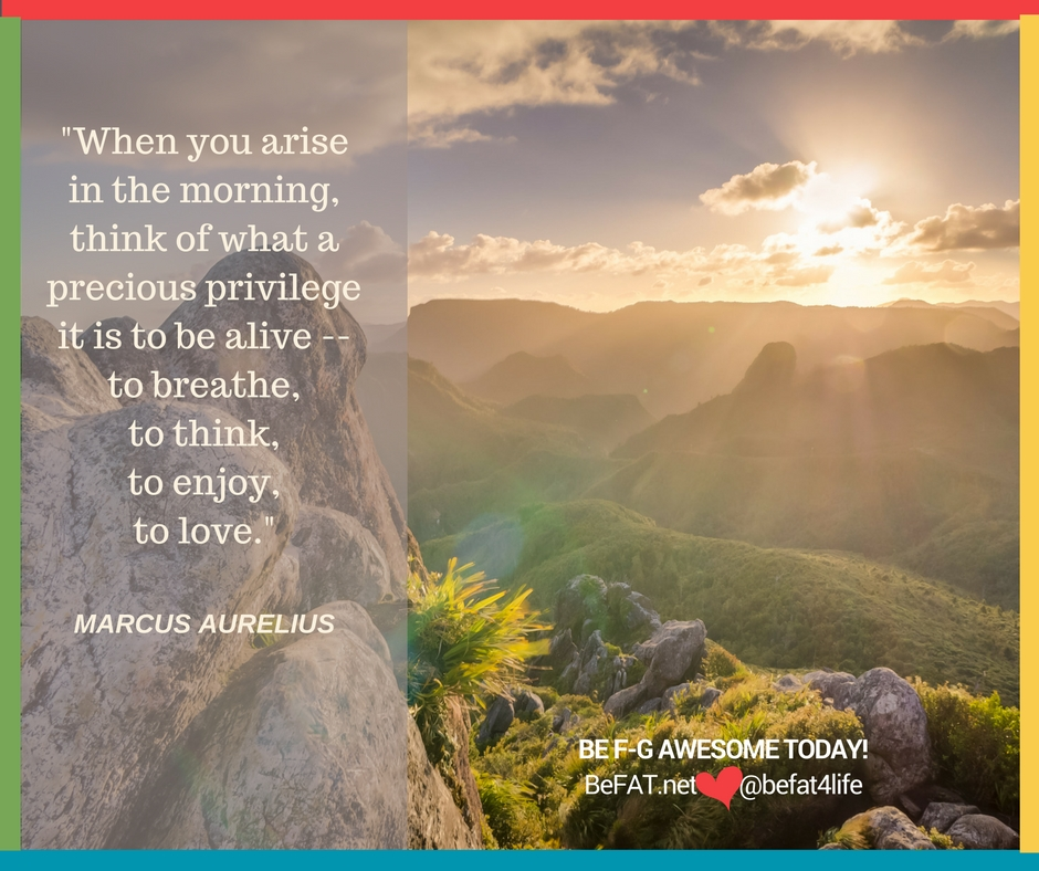 Live A Life That Matters/positive inspirational quote by Marcus Aurelis/www.befat.net/Stephanie DelTorchio/9.1.2016