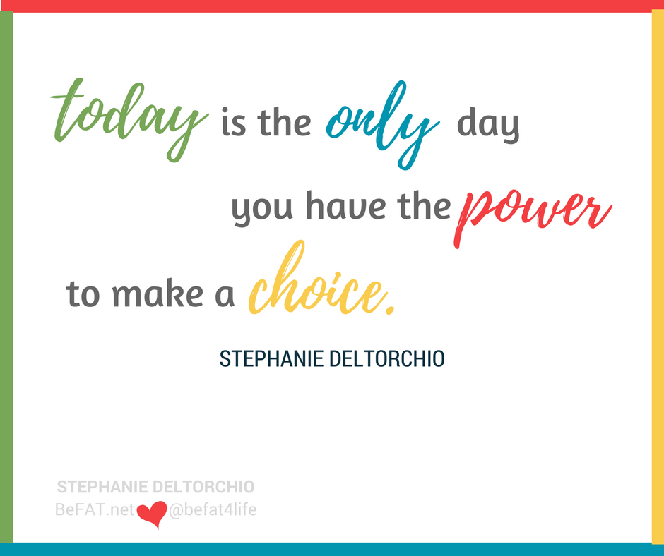 Your Choice Today | Be F-ing Awesome Today