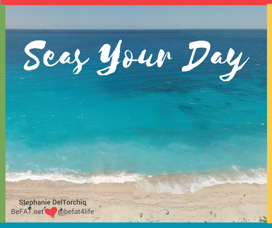 Seas Your Day/quote/www.befat.net/Stephanie DelTorchio