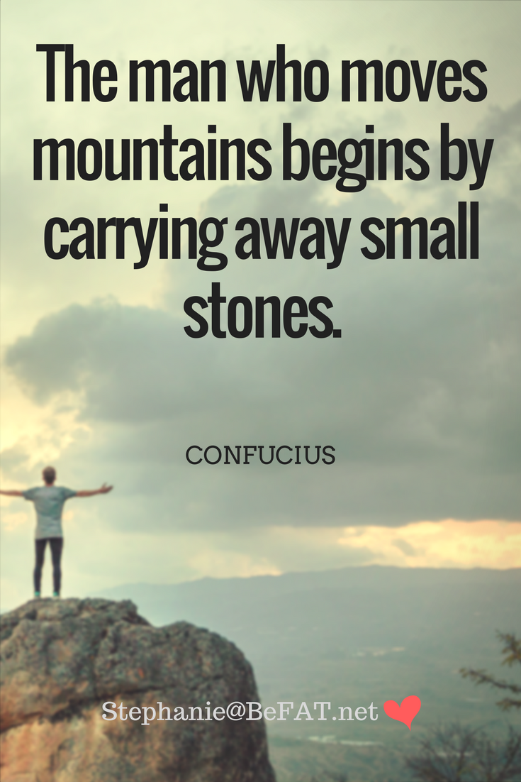 Quotes to Inspire You to Take Small Simple Steps Each Day