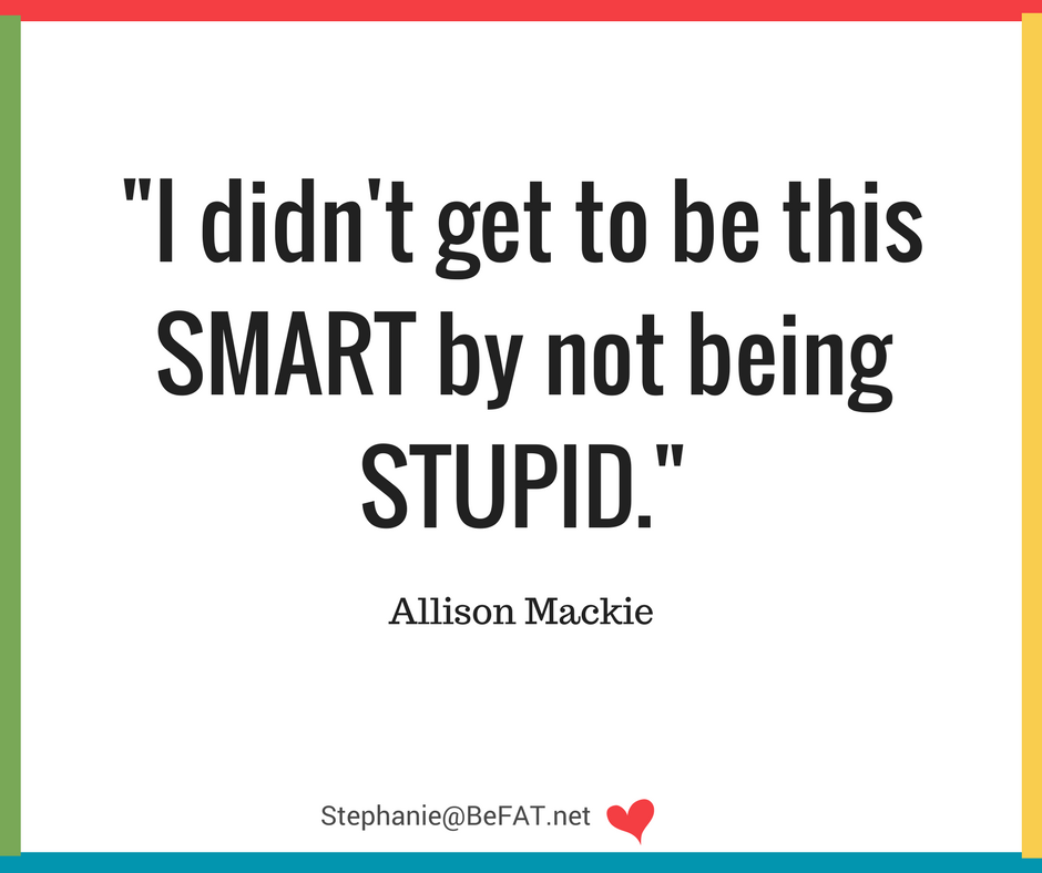 Funny quote on being smart and stupid.jpg